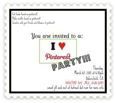 pinterest party @Teri McPhillips Owens @Amy Lyons manion @Karrie Brothers Quinn @Ashley Walters Littleton