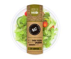 Takeaway salad packaging