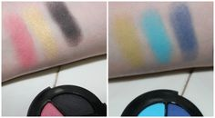 Smashbox Photo Op Eye Shadow Trios, Wavelength and Electro Review