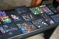 eighteen25: summer craft ideas black magic art
