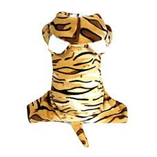 Super Cool Tiger Pattern Pet Hoody Suit for Dogs (XS-XL)