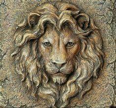 lion relief carvingwoodrelief is part of Wood carving art - Clay Wall Art, Clay Art, Wood Carving Art, Stone Carving, Art Sculpture En Bois, Statues, Plaster Art, Lion Art, Art Mural