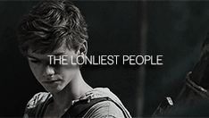 The loneliest people- Newt from the maze runner