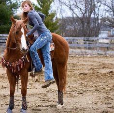 Best Ever Pads custom western saddle pad, Best Ever Pads team rider Megan Sparks