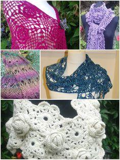 Crochet patterns eBook Now That's A Wrap by DesignedbySonya