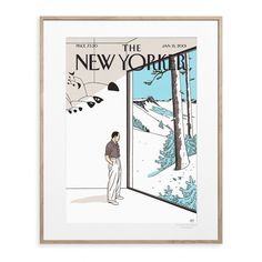 The New Yorker 82 Mobile Cover by Floch