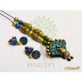 handmade-terracotta-jewelry-antique-tsg503  Maitri Crafts www.maitricrafts.com https://www.facebook.com/maitricrafts.maitri