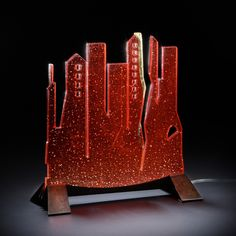 Title: City lightning – Year / Anno: 2013 – Size / Misure: 30x31x12,5 cm – Design by Leo Zaff