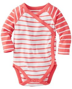 Crossover One Piece In Organic Cotton from #HannaAndersson.