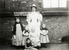 Children, Crumpsall Workhouse, c.1897 London 1800, Victoria Reign, British History, Vintage Pictures, Vintage Photographs, Victorian Era, Old Photos, The Past, Portrait