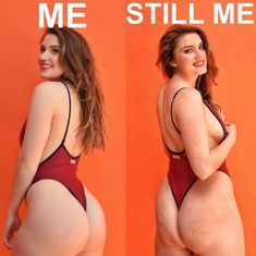 Because no, the Instagram booty isn't the way we all walk around looking IRL.