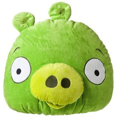 Angry Birds Pillow Green ($18) ❤ liked on Polyvore featuring home, home decor, throw pillows, dolls, furniture, pillows, plushie, green throw pillows, green home decor and green toss pillows