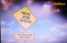 #employstefano increase speed... New job ahead!  www.employstefano.com