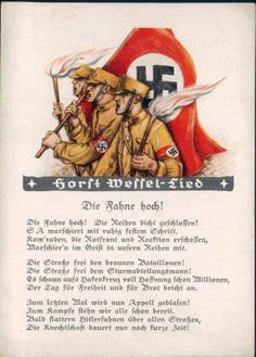 """Die Fahne hoch!"" Horst Wessel Lied"
