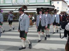 May 1 Parade in Bad Woerishofen, Bavaria
