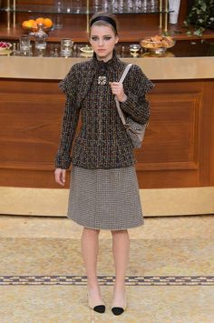 Chanel - #PFW Fall/Winter 2015/2016 www.so-sophisticated.com