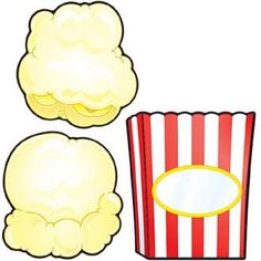 Popcorn & Boxes Cut-Outs - Carson Dellosa Publishing Education Supplies Popcorn Science Fair Project, Science Fair Projects, School Projects, Art Projects, Cub Scout Popcorn, Popcorn Words, Birthday Display, Pop Corn, Hollywood Theme