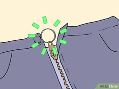 3 Ways to Stop a Zipper from Unzipping Itself - wikiHow