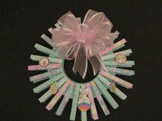 Small Easter Wreath by Cherylspaper on Etsy, $18.00