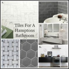 Tiles for a Hamptons Bathroom, Gallerie B
