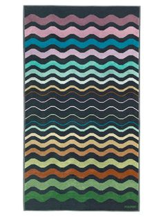 Missoni Lorenzo Beach towel. will never bring myself to buy a towel that costs more than my whole set of bedsheets but it sure is nice to look at.