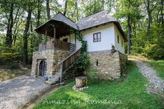 Museum Architecture, Vernacular Architecture, Classic Architecture, Interior Architecture, Beautiful Buildings, Beautiful Landscapes, Cabana, Bucharest Romania, Dry Stone
