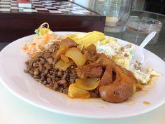 Haitian food lambi