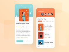 Reader app by Maxim Podavalkin on Dribbble Mobile Web Design, App Ui Design, Interface Design, User Interface, Design Design, Dashboard Design, Website Design Layout, Design Layouts, Website Designs