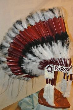 Native American Headdress Sacred Mesa by Shadowgifts on Etsy, $340.00