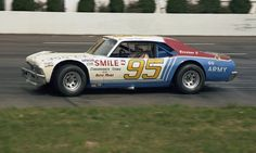 The No. 95 Late Model Sportsman car of Tommy Houston at Martinsville Speedway in March of 1977. (Keith Smith/Smyle Media Photo)