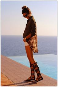The Gladiator Sandals have become a must have of Spring / Summer 2015. Knee or ankle high, you choose. Combine them with clothes as d...