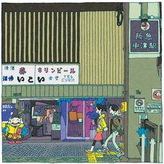 5 Views of Osaka(1〜5) on Behance