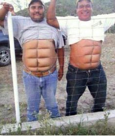 Il sont muscle mashallah