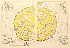 Misty Isles pointcrawl map by Luka Rejec