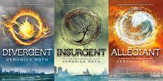 Divergent, Insurgent, Allegiant