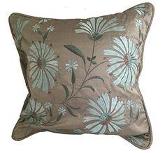 SIA USA 100-Percent Silk Metallic Floral Pillow Cover/Sha... https://www.amazon.com/dp/B0096HICYY/ref=cm_sw_r_pi_dp_U_x_3a7vAbAGRM6T0