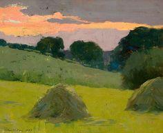 Arthur Wesley Dow - Haystacks - 1899