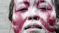Body art in Tokyo - art video and body painting by Elena Tagliapietra