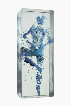 New Three-Dimensional Figurative Collages Encased in Multiple Layers of Glass by Dustin Yellin