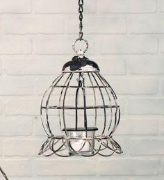 Mini Globe Hanging Votive Holder