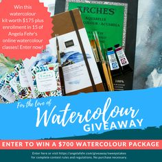 For the Love of Watercolour Giveaway