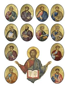Orthodox Christian Education: 12 Apostles Activity