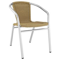 Bistro Dining Armchair Natural