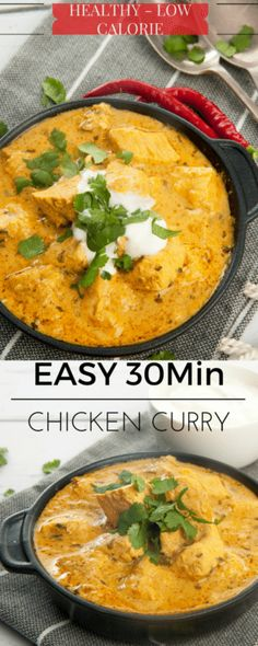 You will never order Takeaway Indian food again. This is the yummiest, easiest authentic chicken curry recipe EVER! Thermomix and stovetop instructions. Indian Food Recipes, Asian Recipes, Healthy Recipes, Easy Chicken Curry, Creamy Chicken, Curry Dishes, Best Chicken Recipes, Recipe Chicken, Le Diner