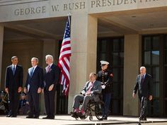 Bush Library Opens with Dedication by President Obama | LISNews: