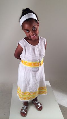 Spotted! A lemlem fan named Liya (what a great name!) looking beyond adorable in a #lemlem dress that she recently purchased from our website. Thanks mom Renee for sending to us! :)