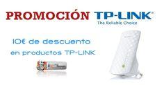Descuento 10€ en productos TpLink desde PcComponentes   Soydechollos.com