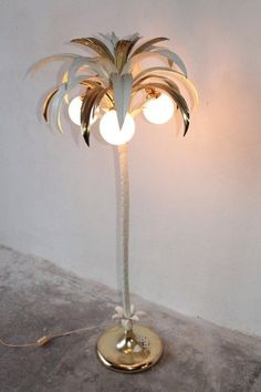 Syrette Lew of Moving Mountains\'s Palmyra palm tree lamp. via ...