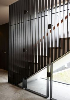 Staircase by Herbst Architects.