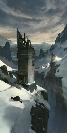Tower of Viondor by Klaus Pillon